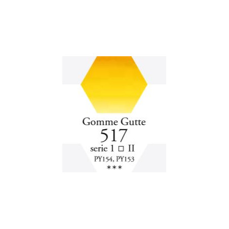 SENNELIER AQUA EXTRA FINE TUBE 10ML S1 517 GOMME GUTTE