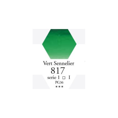 SENNELIER AQUA EXTRA FINE GODET S1 817 VERT SENNELIER
