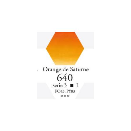 SENNELIER AQUA EXTRA FINE GODET S3 640 ORANGE DE SATURNE