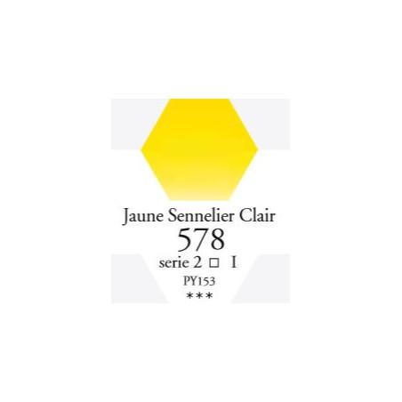SENNELIER AQUA EXTRA FINE GODET S1 578 JAUNE SENNELIER CLAIR
