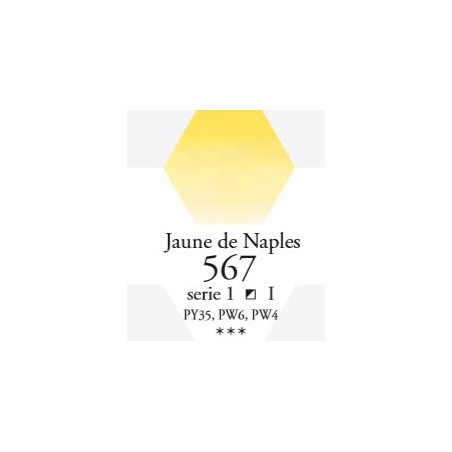SENNELIER AQUA EXTRA FINE GODET S1 567 JAUNE DE NAPLES