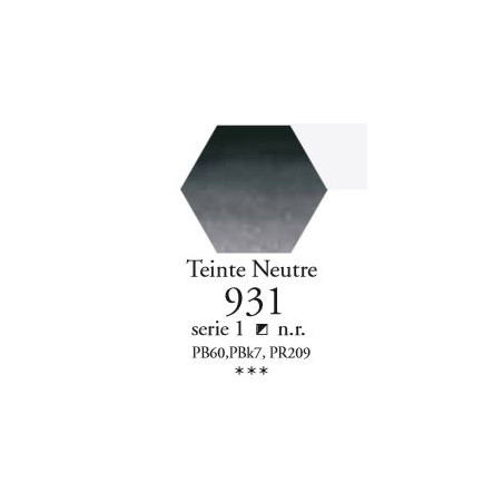 SENNELIER AQUA EXTRA FINE TUBE 21ML S1 931 TEINTE NEUTRE