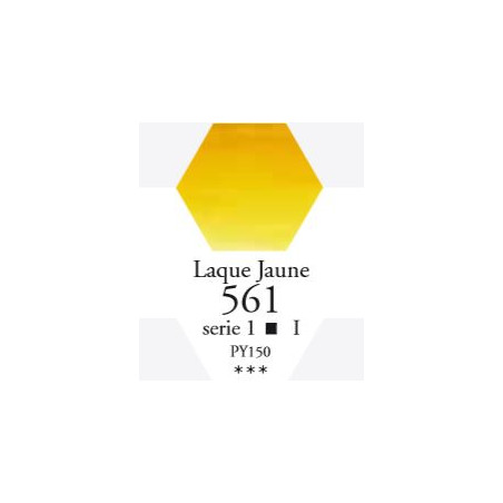SENNELIER AQUA EXTRA FINE GODET S1 561 LAQUE JAUNE