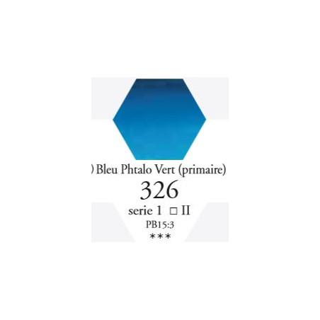 SENNELIER AQUA EXTRA FINE GODET S1 326 BLEU DE PHTALO VERT (PRIMAIRE)