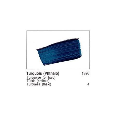 GOLDEN ACRYLIQUE 60ML S4 1390 TURQUOISE PHTALO