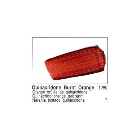 GOLDEN ACRYLIQUE 60ML S7 1280 ORANGE BRULEE QUINACRIDONE