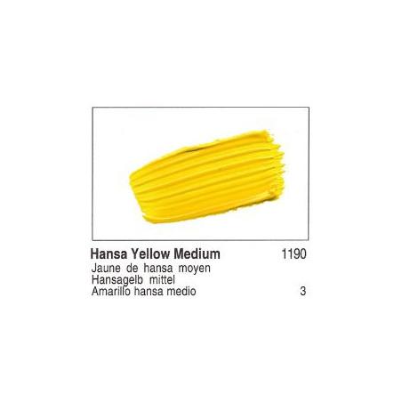 GOLDEN ACRYLIQUE 60ML S3 1190 JAUNE HANSA MOYEN