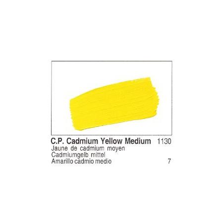 GOLDEN ACRYLIQUE 60ML S7 1130 JAUNE CADMIUM MOYEN