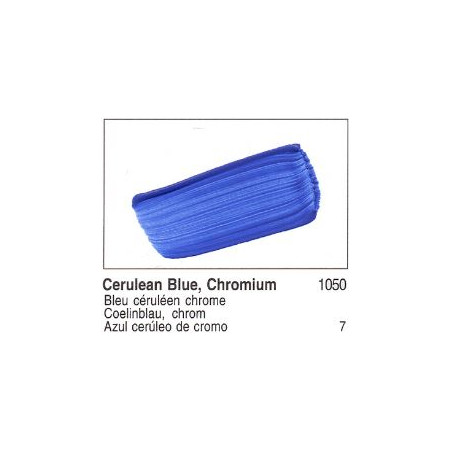 GOLDEN ACRYLIQUE 60ML S7 1050 BLEU CERULEEN CHROME