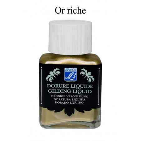 LEFRANC & BOURGEOIS DORURE LIQUIDE 75ML OR RICHE