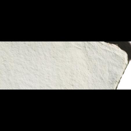 Papier aquarelle fait main aux bords frangés 1 200 g/m²