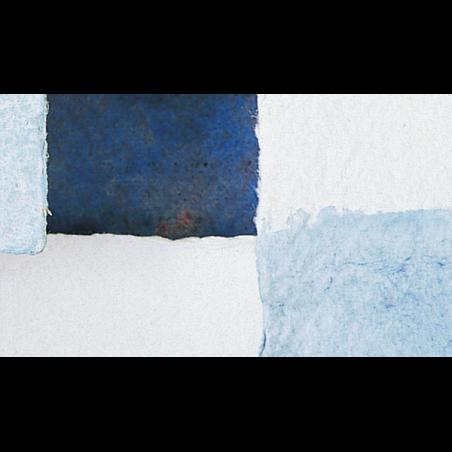 Papier aquarelle fait main aux bords frangés 440 g/m²