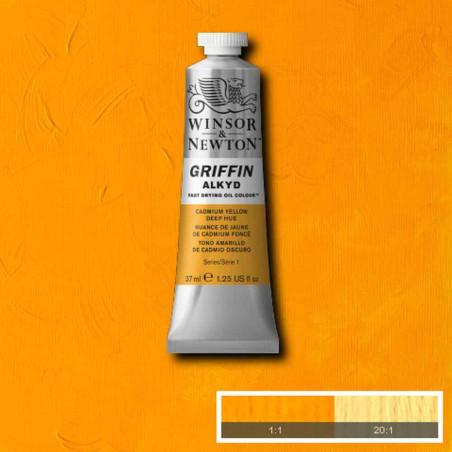 WINSOR ET NEWTON GRIFFIN ALKYDE 37ML S1 115 IMIT. JAUNE CAD FCE