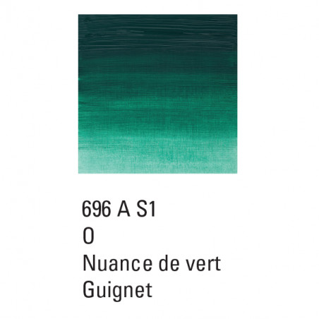 WINSOR ET NEWTON GRIFFIN ALKYDE 37ML S1 696  IMITVERT DE GUIGNET