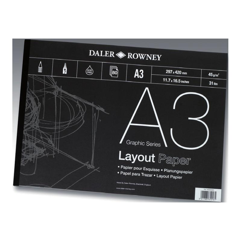 Papier esquisse 45 g/m²