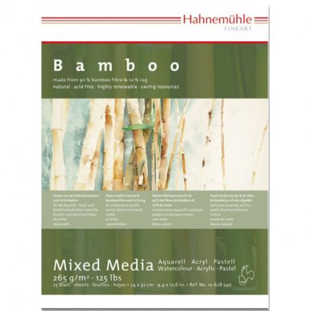 Papier multi-techniques bamboo 265g