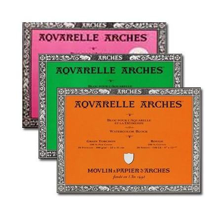 Bloc aquarelle Arches