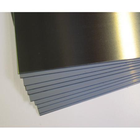 Plaques de zinc