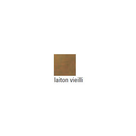 LIBRIANO 12 COINS DE LIVRE LAITON VIEILLI TAILLE 1/15MM