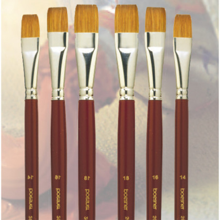 Pinceau martre plat série 20-315 Boesner