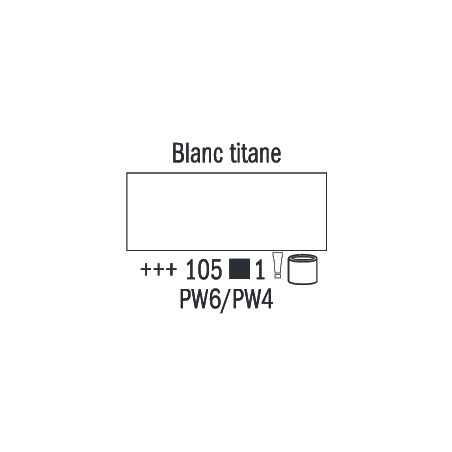 VAN GOGH HUILE 200ML S1 105 BLANC TITANE