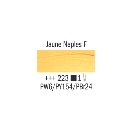 VAN GOGH HUILE 200ML S1 223 JAUNE DE NAPLES FONCE