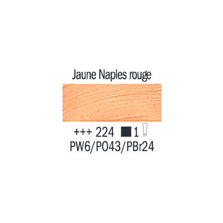 VAN GOGH HUILE 200ML S1 224 JAUNE DE NAPLES ROUGE