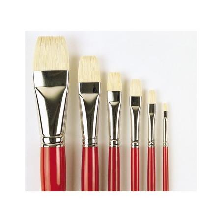 Da Vinci série 7124 pinceau huile plat