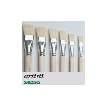 Pinceau huile plat série 262-22 Artisti