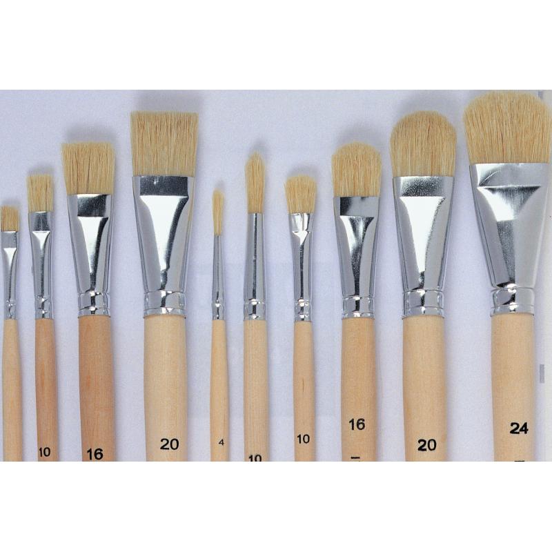 Set de pinceaux formes assorties n°4 Tosh