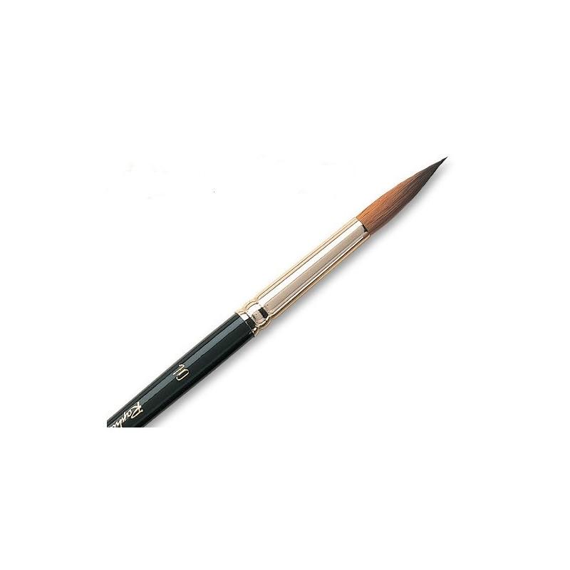 Pinceau aquarelle pointe extra fine martre Kolinsky 8402 Raphael