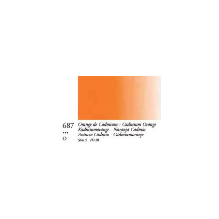 SENN OIL ST 96ML S3 687 ORANGE CADMIUM