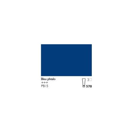 COBRA HUILE/EAU EXTRAFINE 150ML S3 570 BLEU PHTALO