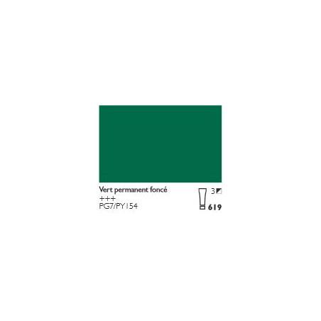 COBRA HUILE/EAU EXTRAFINE 40ML S3 619 VERT PERMANENT FONCE