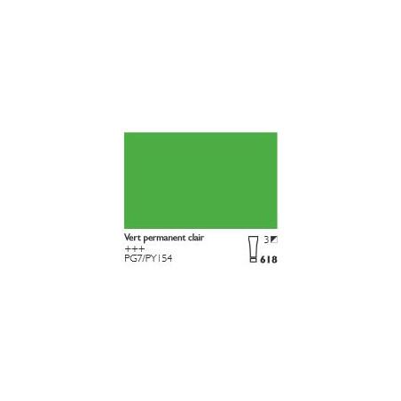 COBRA HUILE/EAU EXTRAFINE 40ML S3 618 VERT PERMANENT CLAIR