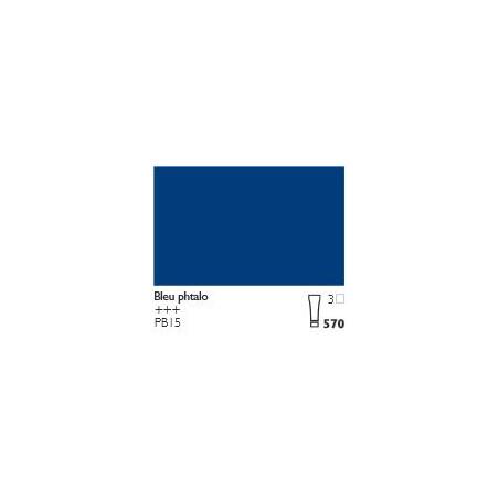 COBRA HUILE/EAU EXTRAFINE 40ML S3 570 BLEU PHTALO