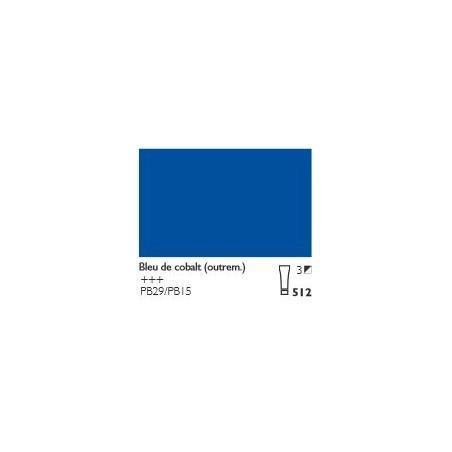 COBRA HUILE/EAU EXTRAFINE 40ML S3 512 BLEU COBALT OUTREMER