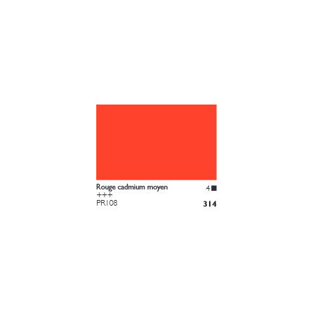 COBRA HUILE/EAU EXTRAFINE 40ML S4 314 ROUGE CADMIUM MOYEN