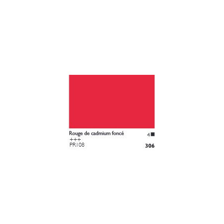 COBRA HUILE/EAU EXTRAFINE 40ML S4 306 ROUGE CADMIUM FONCE