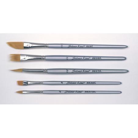 """Silverline set de calligraphie """"Annikki"""" 5 pinceaux synthétiques"""