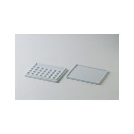 Boesner couvercle pour palette porcelaine 28 cases de mélange