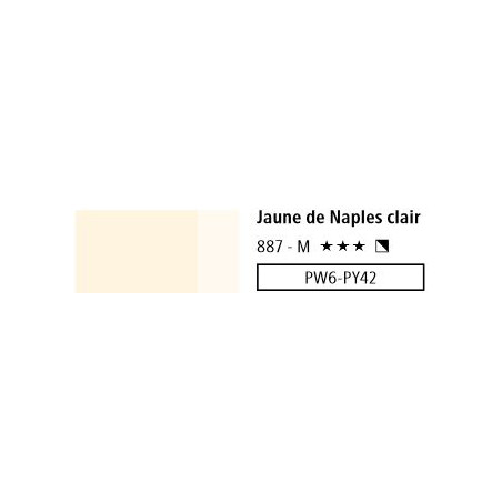 LOUVRE ACRYLIQUE 750ML 887 JAUNE DE NAPLES CLAIR