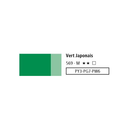 LOUVRE ACRYLIQUE 200ML 569 VERT JAPONAIS