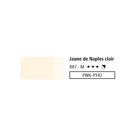 LOUVRE ACRYLIQUE 200ML 887 JAUNE DE NAPLES CLAIR