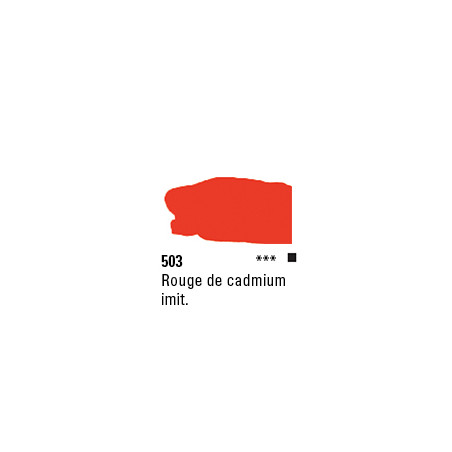 SYS3 ACRYL 150ML CADMIUM RED HUE 503