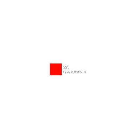 POLYCHROMOS CRAYON COULEUR 223 rouge profond