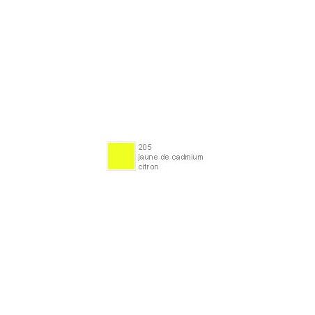 POLYCHROMOS CRAYON COULEUR 205 jaune de cadmium citron