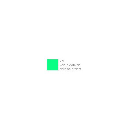 POLYCHROMOS CRAYON COULEUR 276 vert oxyde de chrome Ardent