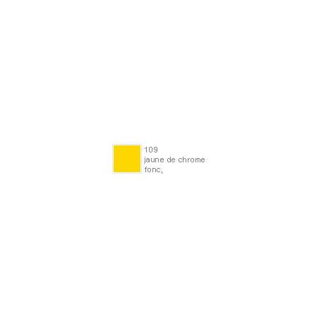 POLYCHROMOS CRAYON COULEUR 109 jaune de chrome fonc?