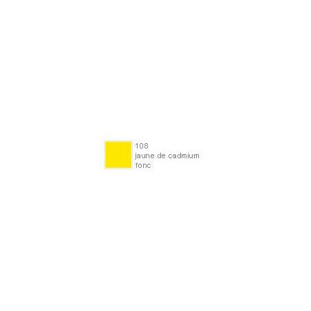 POLYCHROMOS CRAYON COULEUR 108 jaune de cadmium fonc?
